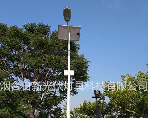 中央电视台威海影视城太阳能路灯安装