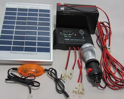 烟台太阳能家用照明灯具