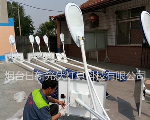 龙口新农村建设太阳能路灯
