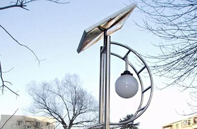 烟台太阳能庭院灯--兼具照明与装饰的灯具