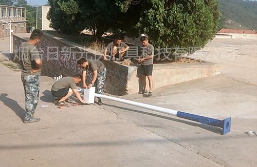 太阳能景观灯安装项目